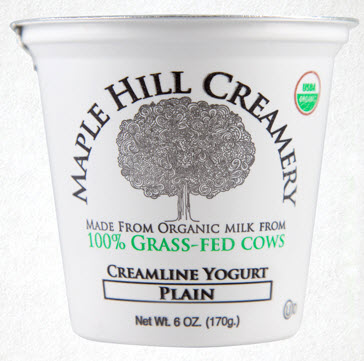 grass fed yogurt