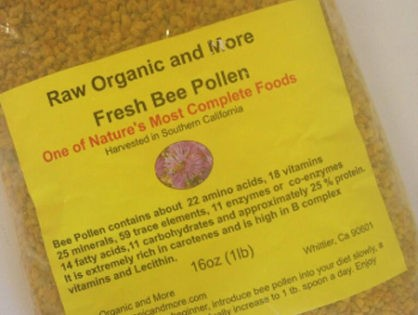 The Benefits of Bee Pollen