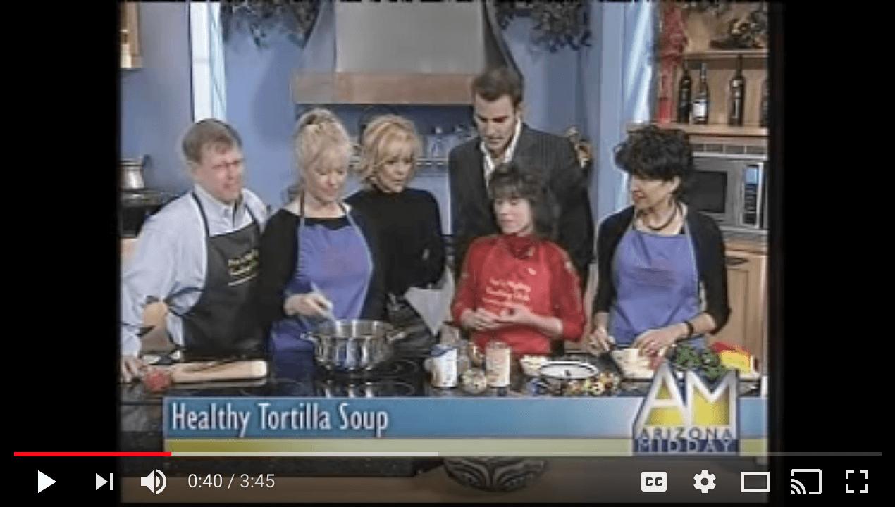 Healthy Tortilla Soup